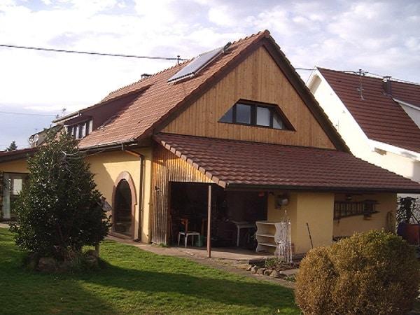 Maison rénovée à Guewenheim