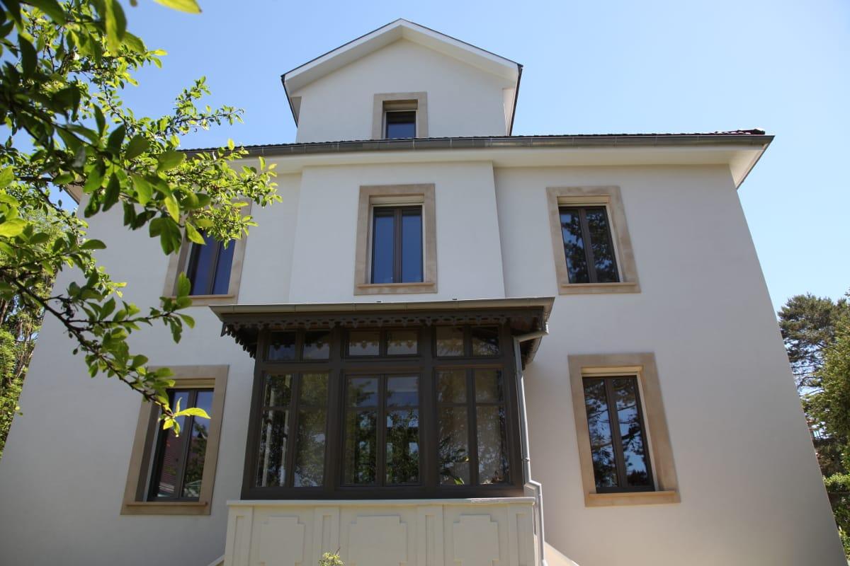 Rénovation de maison en alsace avec air energie