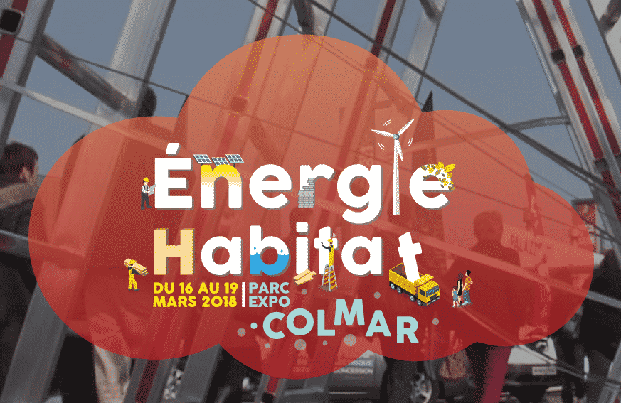 Air energie au salon energie habitat 2018 de colmar for Salon de l habitat colmar